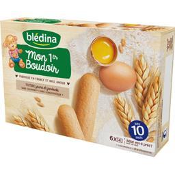 Boudoir adapté à bébé dès 10 mois - Blédiscuit,BLEDINA,la boite de 24 - 120g