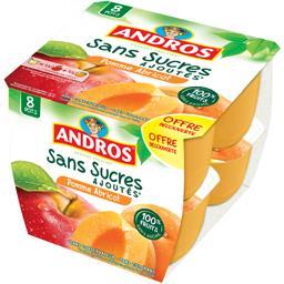 Dessert fruitier pomme abricot sans sucres