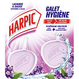 Harpic Galet hygiène lavande
