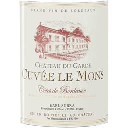Côtes de Bordeaux vin rouge