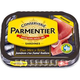 Duo Mer & Terre - Sardines jambon cru fumé italien