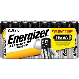 Energizer Piles AA LR6 alcaline, Family Pack