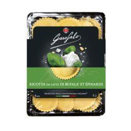 Girasoli Ricotta au lait de bufflonne et épinards