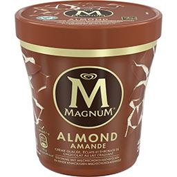 Crème glacée Almond vanille et éclats de chocolat