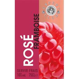 Boisson rosé framboise