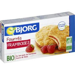 Biscuits fourrés framboises BIO