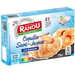 Coquilles Saint-Jacques recette à la Bretonne