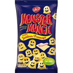 Monster Munch - Petits monstres salés goût jambon/fr...
