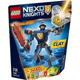 Nexo Knights - La Super Armure de Clay