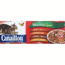Mijotés en sauce aux viandes et aux légumes pour cha...