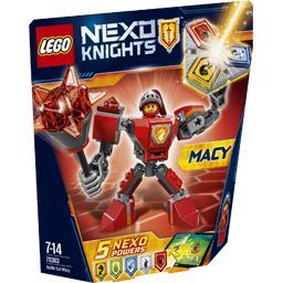 Nexo Knights - La Super Armure de Macy