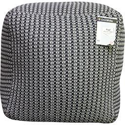 Pouf 50x50x40 cm gris