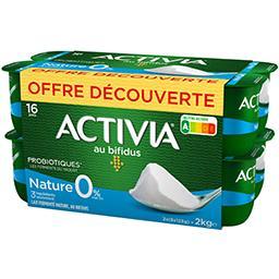 Activia - Lait fermenté nature