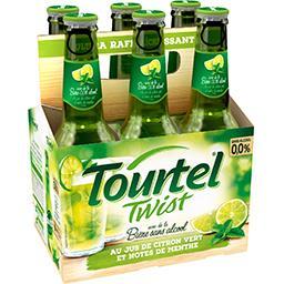 Tourtel Bière sans alcool Twist façon Mojito les 6 bouteilles de 27,5 cl
