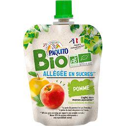 Dessert de fruits pomme allégé en sucre BIO