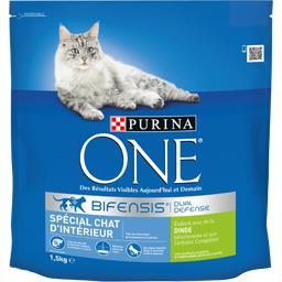 Croquettes Bifensis dinde spécial chats d'intérieur