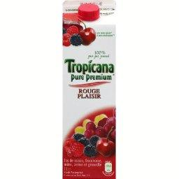 Jus de fruits Rouge Plaisir
