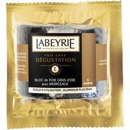 Labeyrie Bloc de foie gras d'oie avec morceaux
