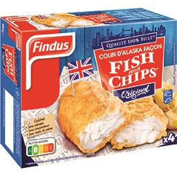 Findus Filets de colin façon Fish & Chips