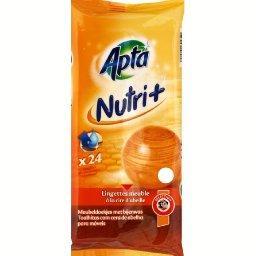 Nutri+, lingettes nourrissantes à la cire d'abeille x24,APTA,
