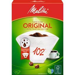Filtre à café 102 blanc