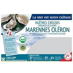 Huître spéciale de claire MARENNES D'OLERON N°2