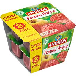Andros Andros Dessert fruitier pomme fraise
