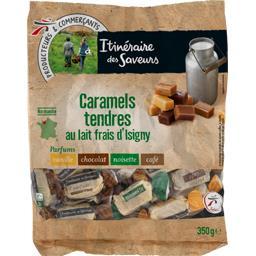 Caramels tendres au lait frais d'Isigny parfums asso...
