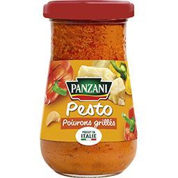 Sauce Pesto Poivrons grillés