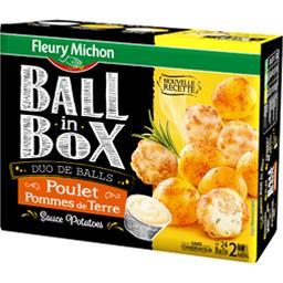 Duo de Balls poulet & pommes de terre - Ball in Box
