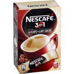 3en1 - Sticks de café au lait sucré