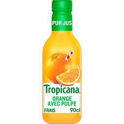 Tropicana Pur jus orange avec pulpe