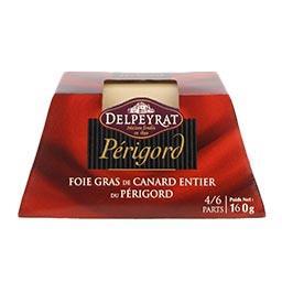 Delpeyrat Foie gras de canard entier igp périgord barquette 16...