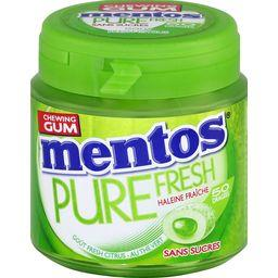 Mentos Pure Fresh - Chewing-gum goût Fresh citrus sans sucr...