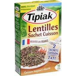 Lentilles sachet cuisson