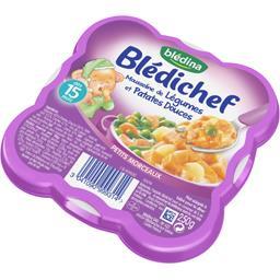 Blédichef - Mousseline de légumes et patate douce, d...
