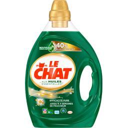 Lessive liquide aux huiles essentielles