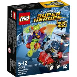 DC Comics Super Heroes - Mighty Micros Batman VS Killer Moth