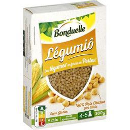 Légumiô - Légumes en forme de perle pois chiches maïs
