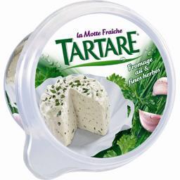 Fromage ail & fines herbes au lait pasteurisé- Motte fraîche