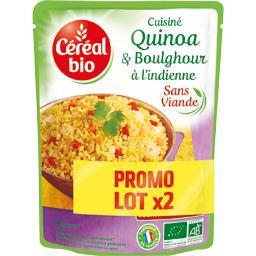 BIO Express - Quinoa et boulghour à l'indienne BIO
