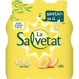 Boisson finement pétillante citron de Méditerranée