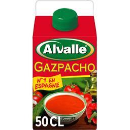 Soupe froide Gazpacho méditerranéenne de légumes fra...