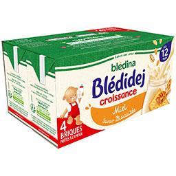Blédidej Croissance - Céréales lactées biscuité miel...