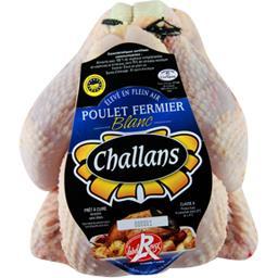 Poulet fermier de Challans blanc PAC Label Rouge