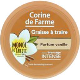 Corine de Farme Graisse à traire parfum vanille Bronzage Intense Mon... le pot de 150 ml
