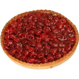Tarte framboise 6 parts