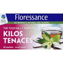 Thé Tuocha + 7 plantes Kilos Tenaces saveur vanille