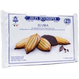 Biscuits Elvira au beurre enrobés de chocolat noir