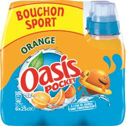 Pocket - Boisson à l'eau de source orange